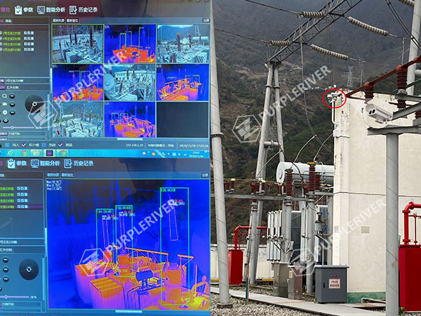 Temperature Monitor of Electric Power Facilities