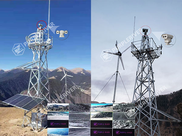 Monitoring System Powered by Wind and Solar