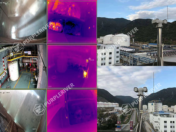 Warning of Danger in Petrochemical Factories