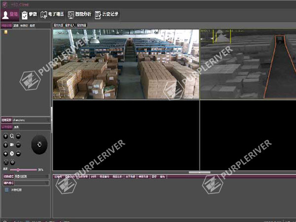 Intelligent Fire Protection of Warehouses
